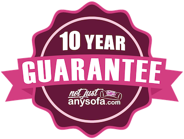 The NotJustAnySofa 10 Year Guarantee