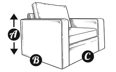 Custom made Armchair diagram
