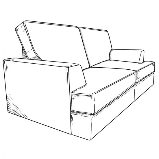 As it is individual cushions, can we have a with legs and without version