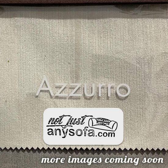 Azzuro StrieVelvet fabric