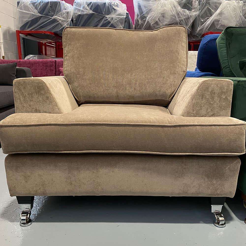 The Helvellyn, armchair in Danza Mink