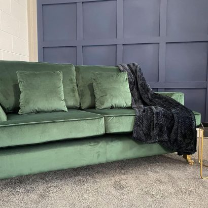 The Helvellyn, 2.5 Seater in Cambio, Bottle Green with Scatters