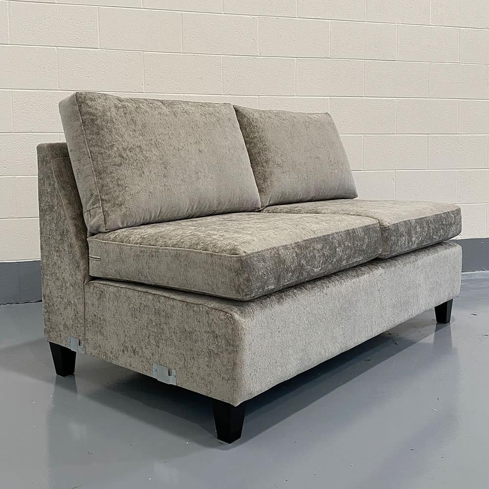 The Lomond, Armless 3 Seater Section, in Nuovo, Truffle