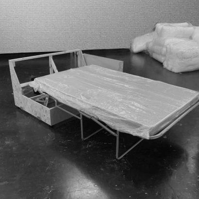 Sofa bed in custom made sofa