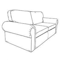 2.5 seater sofa buchaille