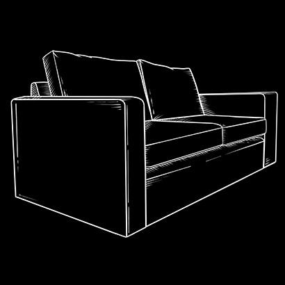 Custom made sofa models